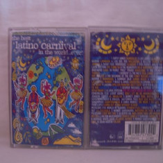 Vand casete audio The Best Latino Carnival in The World Ever, originale - Muzica Pop virgin records
