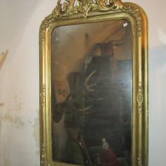 Mobilier - Oglinda veche, secolul XIX, rama antica