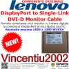 NOU, ORIGINAL LENOVO, CUTIE SIGILATA - Cablu adaptor video Lenovo 45J7915 DisplayPort to Single-Link DVI-D ___ BUCURESTI