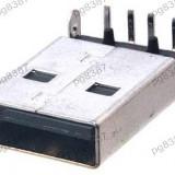 Mufa USB tata, pe cablaj-126105