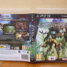 Enslaved: Odyssey to the West (PS3) (ALVio) + sute de alte Jocuri PS3 Namco Bandai Games ( VAND SCHIMB ), Actiune, 16+