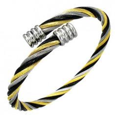 Bratara din inox - Viking Bracelet Bratara Otel Inox Impletit BSS-420