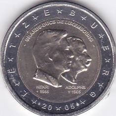 Bancnota Straine, Europa - Moneda Luxemburg 2 Euro 2005 - KM#87 UNC - necirculata (bimetalica - comemorativa)