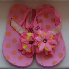 Sandale fete marca H&M - Sandale copii H&m, Marime: 24.5, Culoare: Rose, Textil
