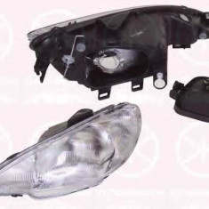 Faruri - Far PEUGEOT 206 hatchback 1.1 i - KLOKKERHOLM 55070121
