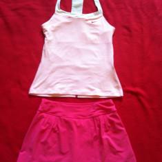 Costum tenis fete colecția Maria Sharapova 12-13 ani Nike, Culoare: Roz, Marime: L, Roz
