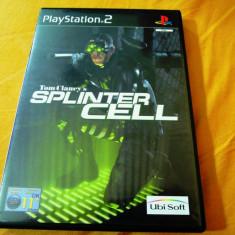 Joc Tom Clancy's Splinter Cell, PS2, original, alte sute de jocuri! - Jocuri PS2 Ubisoft, Actiune, 12+, Single player
