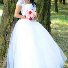 Rochie de mireasa printesa 600 ron