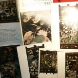 Carnet cu 16 Ilustrate format mare - Paravane pictate sec.17. China -Ed. 1986 Colectii Hermitage - Reproducere