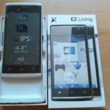 Telefon Allview, Negru, 4GB, Neblocat, Dual SIM, Dual core - Allview E2 Living Black- Nou