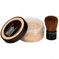 Fond de ten pudră minerală Maybelline + Kabuki Brush - 93 Sienna, Compact