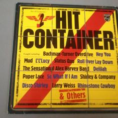 HIT CONTAINER -cu:THIN LIZZY, STATUS QUO, B. WHITE..(1976/PHILIPS REC/RFG) - VINIL - Muzica Rock universal records