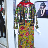 Costum popular  traditional romanesc vintage
