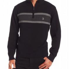 Pulover U.S. Polo - Barbati - 100% original - Pulover barbati US Polo Assn, Marime: M/L, Culoare: Negru, Bumbac