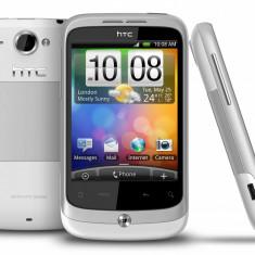 Telefon mobil HTC Wildfire, Alb, Neblocat - HTC A3333 Wildfire White
