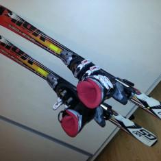 Kit schiuri copii Volkl + legaturi Fischer FJ-7 + clapari Nordica GPTJ - Set ski Völki