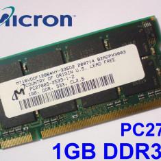 1GB PC2700 DDR333 333MHz, Memorie ram Laptop, Testata cu Memtest86+
