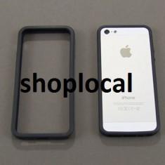 Bumper Apple iphone 6 silicon negru subtire + folie **LIVRARE GRATUITA !!! - Bumper Telefon