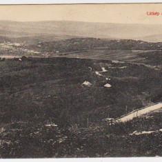 Carte Postala - Zalau Zilah vedere a orasului de pe Meses ilustrata circulata in 1914