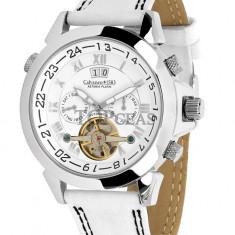 Ceas de lux Calvaneo 1583 Astonia Platin White, original, nou, cu factura si garantie! - Ceas barbatesc Calvaneo, Mecanic-Automatic