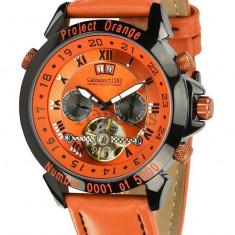 Ceas de lux Calvaneo 1583 Astonia Project Orange Limited, original, nou, cu factura si garantie! - Ceas barbatesc Calvaneo, Mecanic-Automatic