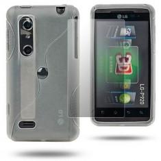 Husa silicon LG OPTIMUS 3D THRILL 4G P920 P925 + folie ecran + expediere gratuita Posta - sell by PHONICA