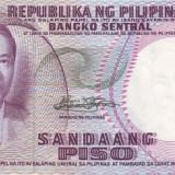 Filipine 100 Piso (nedatata~1969, signatures: Marcos & Calalang ) P-147a UNC !!!