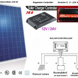 Panouri solare - Sistem Fotovoltaic Complet 230 W . Panou, Panouri Fotovoltaice