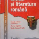 LIMBA SI LITERATURA ROMANA MANUAL PENTRU CLASA A XI-A - Eugen Simion - Manual Clasa a XI-a