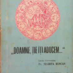 DOAMNE TIE ITI ADUCEM - Nechita Runcan - Carte poezie