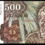 500 LEI 1991 ianuarie UNC necirculata