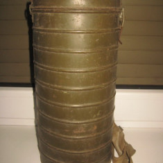 Colectii - Cutie veche militara pentru masca de gaze: FMP- Z&co, 1940.