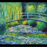 Pictura Claude Monet BRIDGE OVER THE WATER reproducere