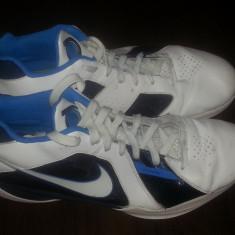 Nike Flywire Nr 48.5 Stare Buna - Adidasi barbati Nike, Culoare: Alb, Piele sintetica