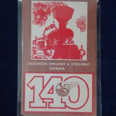 Fanion Motiv Locomotive Rusesc aniversare 140 ani - Fanion fotbal