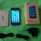 Vand / Schimb Samsung Galaxy Trend Lite cu Smart Box Mini PC - Telefon mobil Samsung Galaxy Trend Lite, Negru, Orange