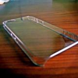 Husa - Huse iphone 5/ 5s noi, plastic, transparenta, clear case