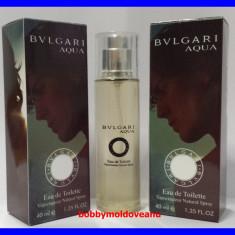 TESTER FIOLA PARFUM BARBAT BULGARI AQUA - 40ML - Parfum barbati Bvlgari