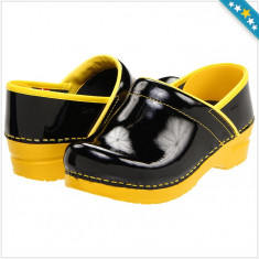 100% AUTENTIC - Pantofi SANITA Clogs - Pantofi Dama, Femei - Pantofi Piele Naturala - Pantofi Originali SANITA
