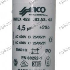 Condensator pornire motor 4, 5uF-450V - 327099