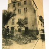 Carte postala - ARHITECTURA - casa lui Napoleon in Corsica - circulata anii 1910-1920 - 2+1 gratis toate produsele la pret fix - RBK4070