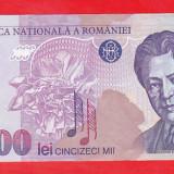 Bnk bn romania 50000 lei 1996 aunc