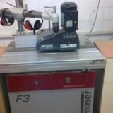 Masina de frezat - Masina frezat cu ax inclinabil+dispozitiv de avans mecanic-HUMMER F3