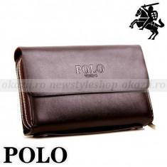 POLO - Borseta Barbati Polo Sport din piele naturala