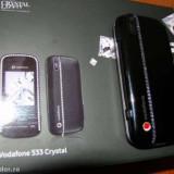 Telefon cu cristale, Negru, 2GB, Neblocat, Fara procesor, Nu se aplica