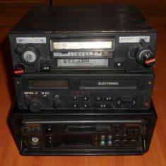 CD Player MP3 auto - Radio casetofon Auto Romanesc - STELA ACORD, vechi. Radiocasetofon de masina, de colectie, vintage.OPEL M101, PHILIPS 575.