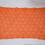 Sal dama handmade - Esarfa, Sal Dama, Culoare: Orange