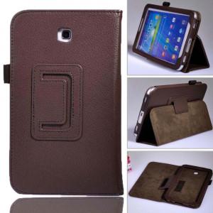Husa tableta Samsung galaxy Tab3 7 inch. Culoare MARON foto