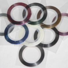 BENZI DECORATIVE pentru Unghii - set 10 modele diferite - Gel unghii