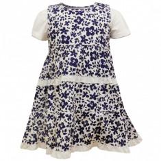 Haine Copii 4 - 6 ani, Rochii - SOLDARE! Set cu rochita DIZZY DAISY fetite 4-6 ani import Anglia, art.8450